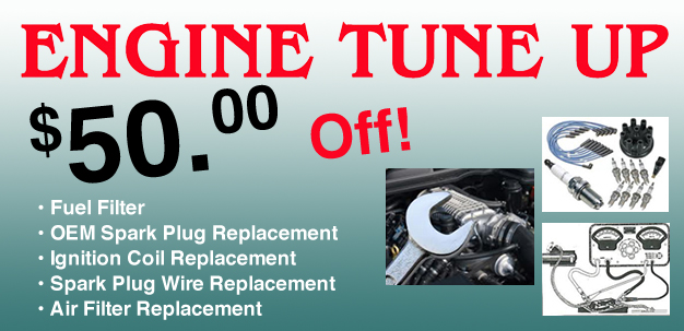 Engine Tune Up Coupon