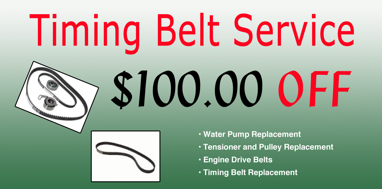Timing Belt Service Coupon